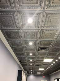 regal ceiling tile antique nickel
