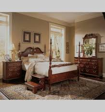 Cherry Color Bedroom Set Leather And Wood Bedroom Furniture Silver ...