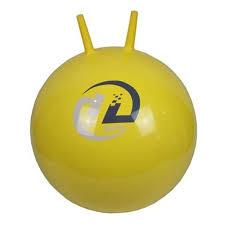 <b>Мяч</b>-<b>попрыгун Z-Sports BB-004</b>-45 с рожками, 45см, желтый ...