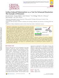 Surface Induced Polymorphism As A Tool For Enhanced Dissolution The