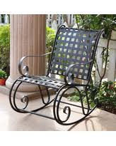 black wrought iron patio furniture. international caravan wrought iron rocker black size single patio furniture