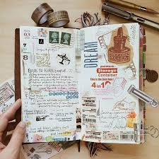gorgeous midori travelers notebook pages ideas and inspiration for keeping a travel journal sketchbook sbook or art journal