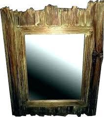 rustic wood mirror frame. Rustic Wood Framed Mirrors Frame Mirror Large Wooden Wall Rustic Wood Mirror Frame