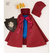 Childs Cape Pattern Adorable Simplicity 48 Child's Cape Costumes