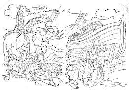 Kleurplaat Ark Van Noach Ausmalbild Noah Mit Tieren Ausmalbilder