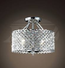medium size of martina antique black crystal 3 light flush mount chandelier jessica crystal basket semi