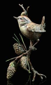 Patina Hot Cast Bronze Wren Multi Animatolka Pl