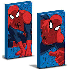 marvel spider man glow in the dark 2 pack canvas wall art on marvel spiderman canvas wall art 4 piece with marvel spider man glow in the dark 2 pack canvas wall art home 4 a