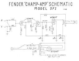 how amps work 5e3 tweed deluxe annotated schematic