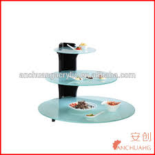Party Food Display Stands Gorgeous 32 Tires Round Acrylic Buffet Display Stand For Outdoor Party Wedding