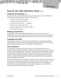The Great Kapok Tree: An Instructional Guide for Literature   SEP40105