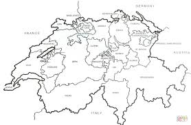 Small Picture Swiss Outline Map coloring page Free Printable Coloring Pages