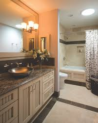 lighting in a bathroom. In The Master Or Guest Bathrooms, Use Fixtures That Provide At Least 75 To 100 Watts Of Illumination, Says Randall Whitehead, A Well-known Lighting Expert Bathroom