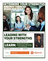 leading your strengths presented in partnership wcc careerservices softskillsflyer 1