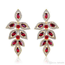 2018 crystal long hanging earrings eagle silver gold color rhinestone bridal wedding dangle chandelier earrings jewelry from bella666 7 83 dhgate com