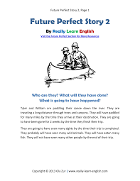 simple future story 3 pdf