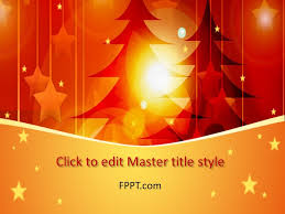 Christmas Design Powerpoint Templates Template Free Christmas