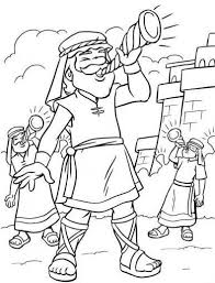 Free Printable Coloring Pages Joshua And The Battle Of Jericho