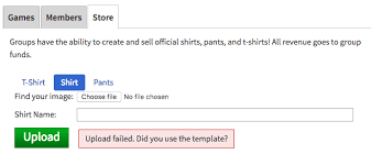 How To Upload A Shirt On Roblox Cant Upload Shirts Pants Web Bugs Roblox Developer Forum
