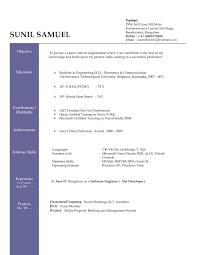 Best Ideas Of Resume Format Doc Fabulous Resume Sample Doc Free