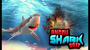 ▻ angry shark simulator game multi touch games android  angry shark 2017 simulator game multi touch games android gameplay