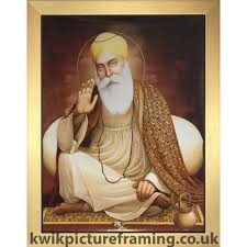 spiritual guru sri nanak dev ji in size 23 x 18 inches sikhism