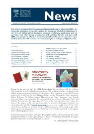 News Letters Cerl Newsletters Cerl