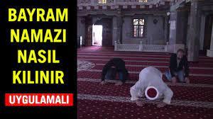 Bayram namazı evde kılınır mı nasıl kıldırılır Uygulamalı ( Ramazan Bayram  namazı kaç rekat ne zaman - YouTube