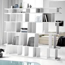 Depiction of Open Bookcase Room Divider Ideas