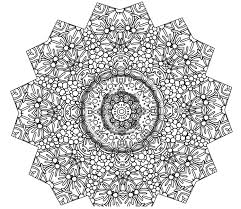 Small Picture Geometric Snowflake Coloring Pages ALLMADECINE Weddings