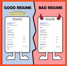 8 Good Vs Bad Resume Examples Trinity Training