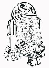Download Or Print The Free R2 D2 Droid Coloring Page And Find