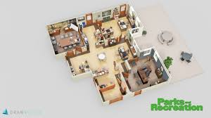 these tv show floor plans show every detail of your favorite television show offices