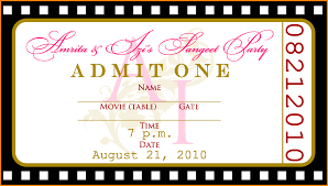 ticket template event ticket templates jpg letterhead uploaded by kirei syahira