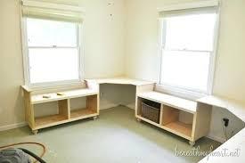 office desk diy. Office Desk Diy Corner And Window One