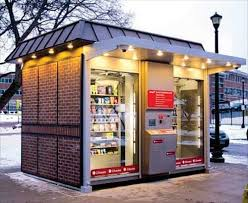 Automated Vending Machines Best Shop48's Giant Vending Machine Rolls Out At First Apartment Complex