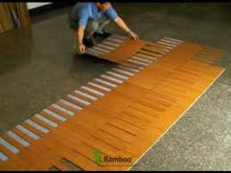 How to install bamboo flooring Engineered How To Install Quick Lock Bamboo Flooring Youtube How To Install Quick Lock Bamboo Flooring Youtube