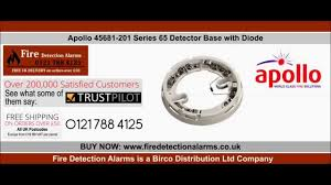 apollo 45681 201 series 65 detector base with diode fire Apollo Series 65 Wiring Diagram apollo 45681 201 series 65 detector base with diode fire detection alarms apollo smoke detectors series 65 wiring diagram