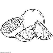 Fruits Coloring Pages Pdf Getcoloringpagesorg