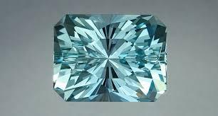 an 11 4 carat aquamarine with a regal radiant cut from gemstone cutter john dyer