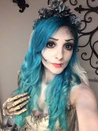 corpse bride makeup a more realistic version of emily by nicole chilelli