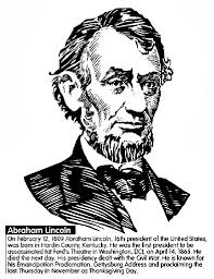 Small Picture US President Abraham Lincoln Coloring Page crayolacom