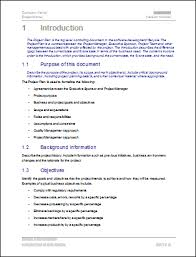 Project Management Plan Template Free Download Microsoft Word Project Plan Template Project Management Plan