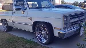 1987 chevy c10 silverado - YouTube