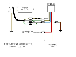 how to wire generic 2 speed wiper switch shoptalkforums com image