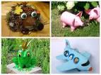 Поделки из для детского сада фото как сделать