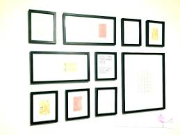 wall frame collage interesting idea picture frame collage ideas for wall frames