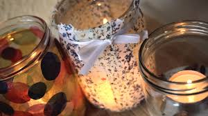 Ways To Decorate Glass Jars DIY 100 Ways How To Decorate Jars Into Candles Home Decor YouTube 23