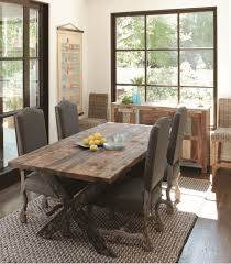 Rustic Chic Dining Room Sets Unique Home In Tables