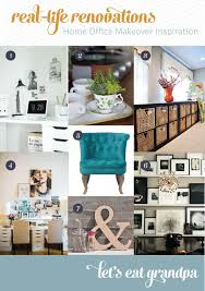home office renovations. Real Life Renovations Home Office Makeover Inspiration Let\u0027s Eat Grandpa